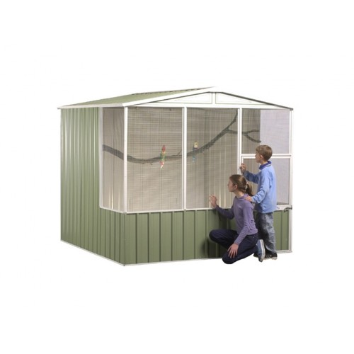 Aussie Reptile Supplies Gable Roof Aviary Kit 2 26mw X 2